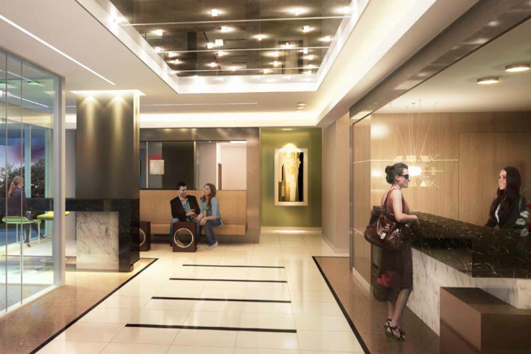 The Village Residences Lobby