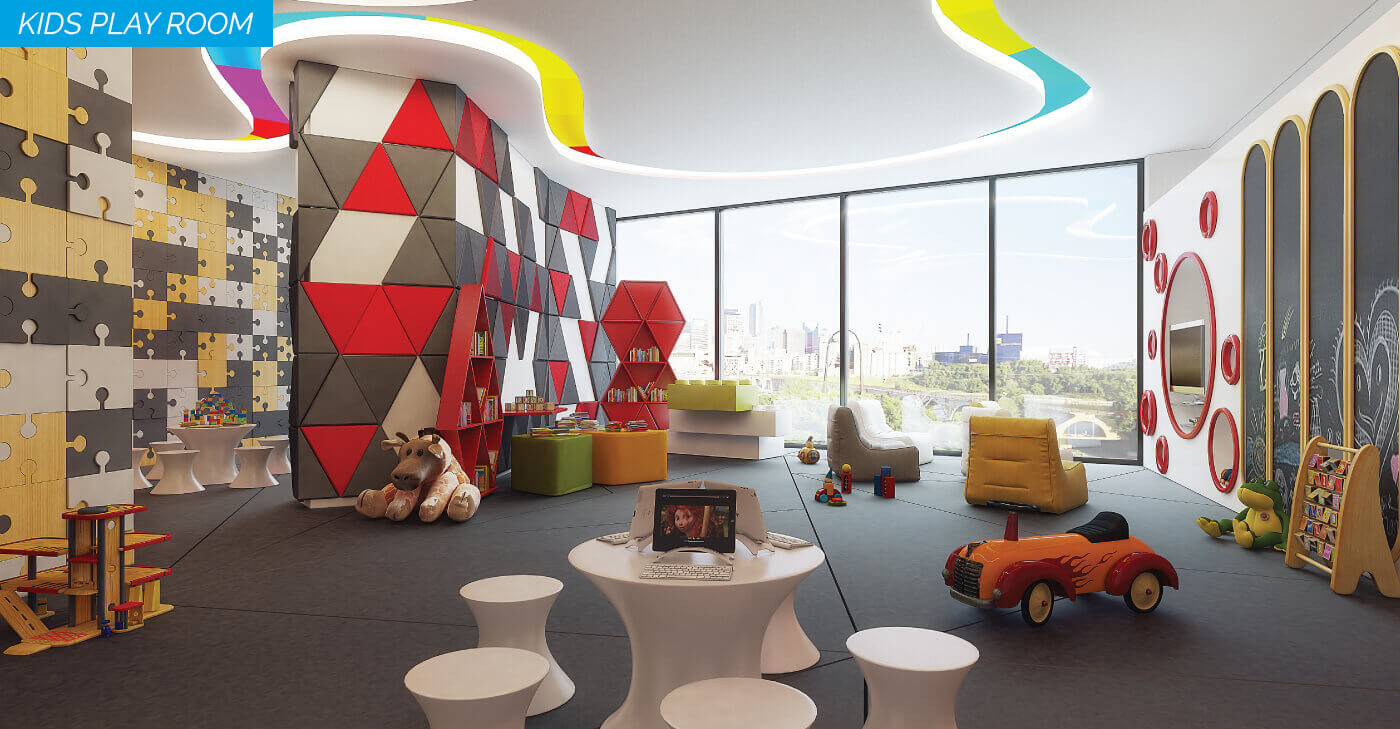 6 - kids play room